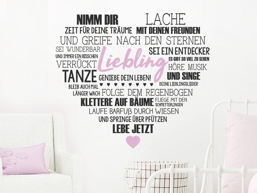 Home Decor Wandtattoo Name Wunschname Kinderzimmer Herz Schmetterling 2 Farbig Home Furniture Diy Omnitel Com Na