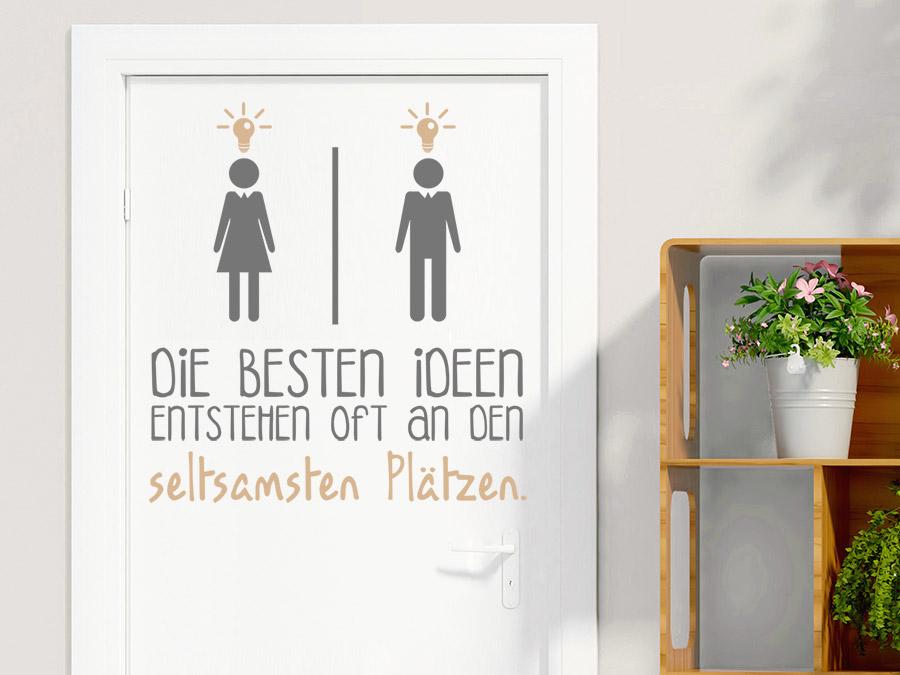 Wandtattoo beste ideen wc - Wandtattoo ideen ...