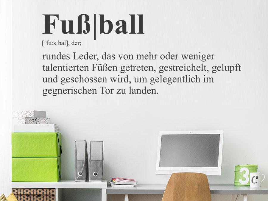 Fußball Definition