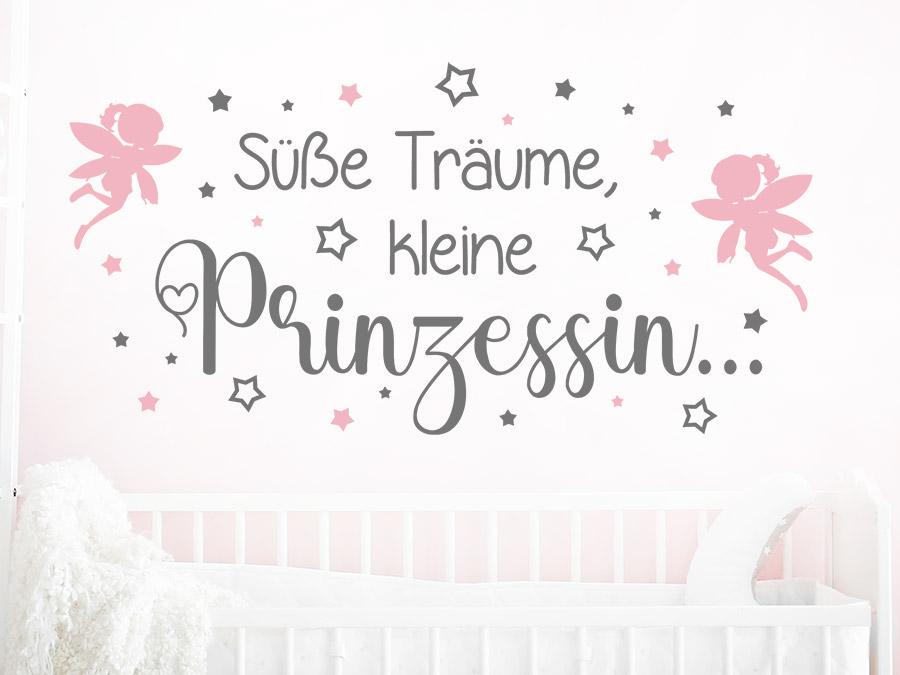 Wandtattoo Süße Träume kleine Prinzessin