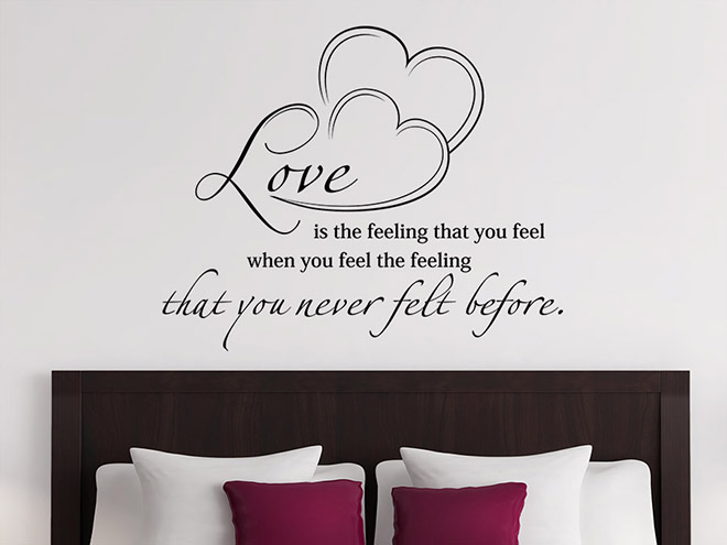 wandtattoo als hochzeitsdeko dekoration f r die hochzeit. Black Bedroom Furniture Sets. Home Design Ideas