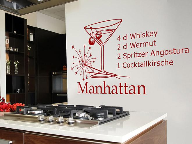 Wandtattoo Manhattan