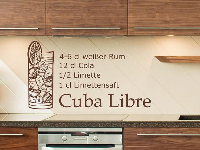 Wandtattoo Cuba Libre