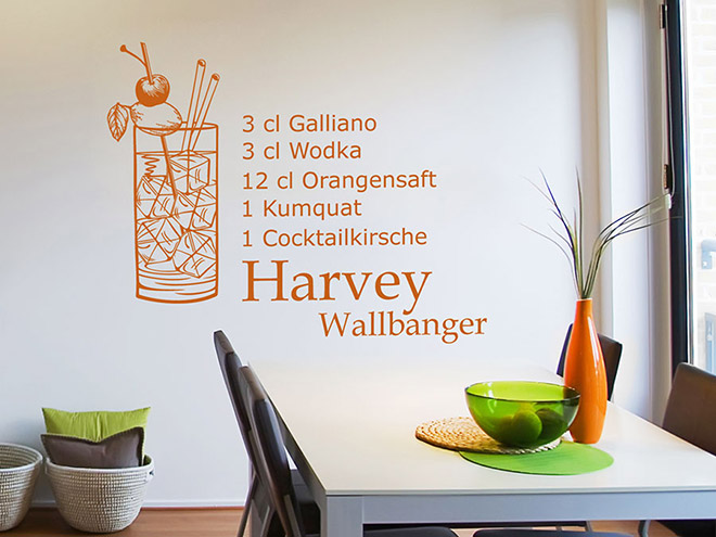 Wandtattoo Harvey Wallbanger