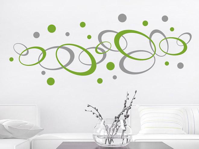 Wandtattoo Ornament Ovale Und Kreise