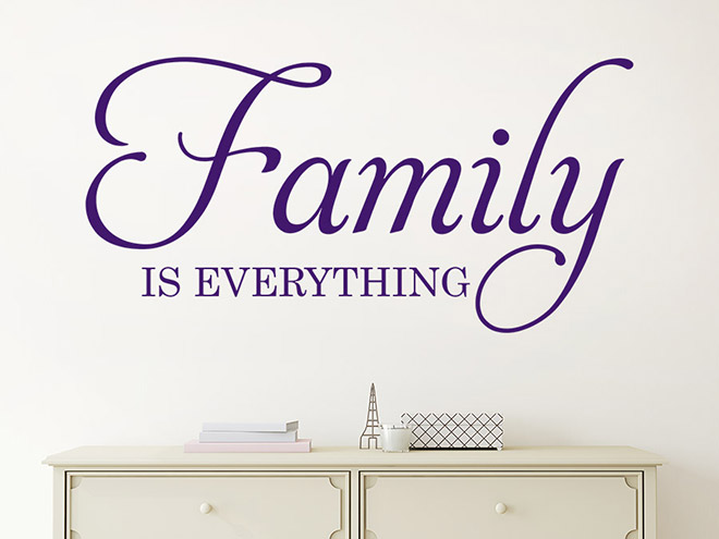 Wandtattoo family is everything wandtattoo de - Wandtattoo family ...