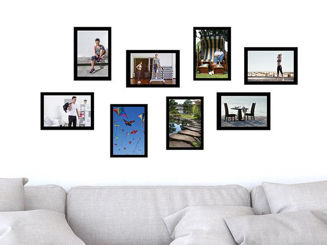 Wandtattoo moderne fotorahmen set wandtattoo de - Moderne wandtattoos ...