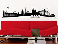 Wandtattoo Skyline Köln | Bild 2