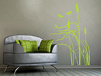 wandtattoo schilf im wind mit libellen wandtattoo de. Black Bedroom Furniture Sets. Home Design Ideas