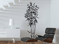 Wandtattoo Bambus Deko | Bild 2