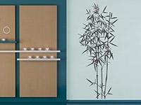 Wandtattoo Bambus Deko | Bild 4