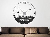 Wandtattoo Uhr Berlin