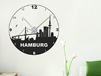 Wandtattoo Uhr Hamburg