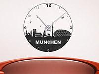 Wandtattoo Uhr München