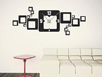 Wandtattoo Uhr Retro Cubes | Bild 2