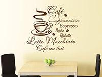 Wandtattoo Heißer Kaffee | Bild 2