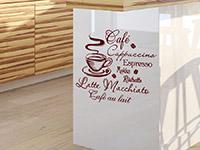 Wandtattoo Heißer Kaffee | Bild 3