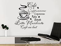 Wandtattoo Heißer Kaffee | Bild 4