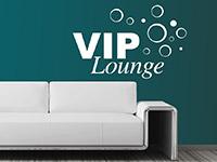 Wandtattoo Vip Lounge im Wohnzimmer