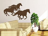 Wandtattoo Traumhafte Pferde | Bild 2