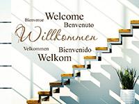 Wandtattoo Willkommen mehrsprachig | Bild 4