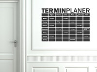 Tafelfolie Terminplaner