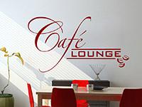 Wandtattoo Cafélounge