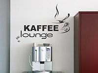 Café Lounge Bereich Wandtattoo in der Küche