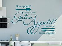 Wandtattoo Buon appetito