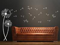 Wandtattoo Pusteblumen mit fliegenden Schirmchen | Bild 2