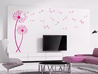 Wandtattoo Pusteblumen mit fliegenden Schirmchen | Bild 4
