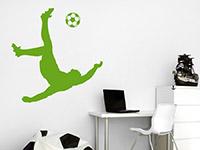 Wandtattoo Fußball Artist