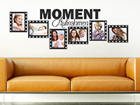 Wandtattoo Fotorahmen Moment-Aufnahmen | Bild 2