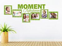 Wandtattoo Fotorahmen Moment-Aufnahmen | Bild 3