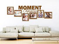 Wandtattoo Fotorahmen Moment-Aufnahmen | Bild 4
