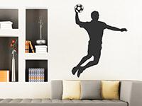 Wandtattoo Handballer | Bild 2