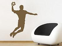 Wandtattoo Handballer | Bild 3