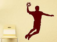 Wandtattoo Handballer | Bild 4