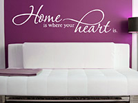 Wandtattoo Home is where your heart... | Bild 4