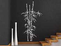 Wandtattoo Bambuspflanze