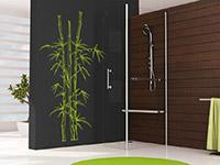 Bambus Wandtattoo Pflanze in lindgrün