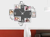 Wandtattoo Uhr mit Fotorahmen | Bild 3