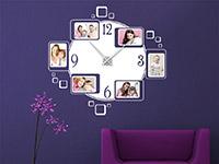 Wandtattoo Uhr mit Fotorahmen | Bild 4