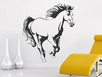 Wandtattoo Elegantes Pferd | Bild 3