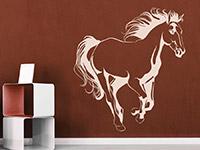 Wandtattoo Elegantes Pferd | Bild 4