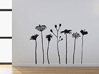 Wandtattoo Verspielte Wiesen Blumen | Bild 4