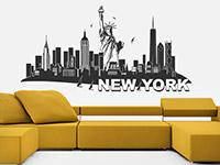Wandtattoo Skyline New York | Bild 2