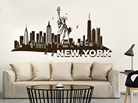 Wandtattoo Skyline New York | Bild 3