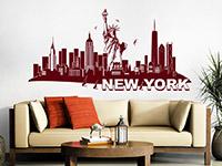 Wandtattoo Skyline New York | Bild 4
