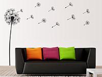 Wandtattoo Traumhafte Pusteblume im Wohnzimmer